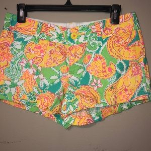 Lily Pulitzer floral shorts
